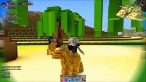 Cube World Montura